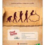 Nova campanha do CentralServer vincula a computação em nuvem à evolução humana