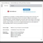 VMware divulga a certificação da CentralServer