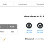 Novos recursos no Painel do Cloud Server gerenciado pelo cliente