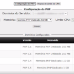 Gerenciamento do PHP