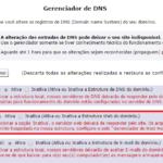 Novo recurso no Gerenciador de DNS: Inativar Estrutura Web Local