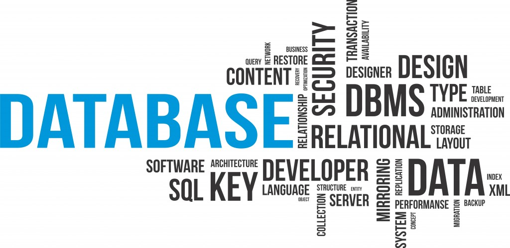 word cloud - database 2