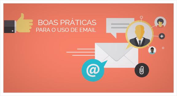 6 boas práticas para uso de email