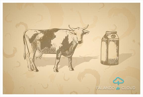 Se você precisa de leite, por que comprar uma vaca?