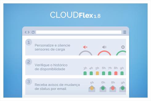 Monitore servidores com mais facilidade no CloudFlex 1.8