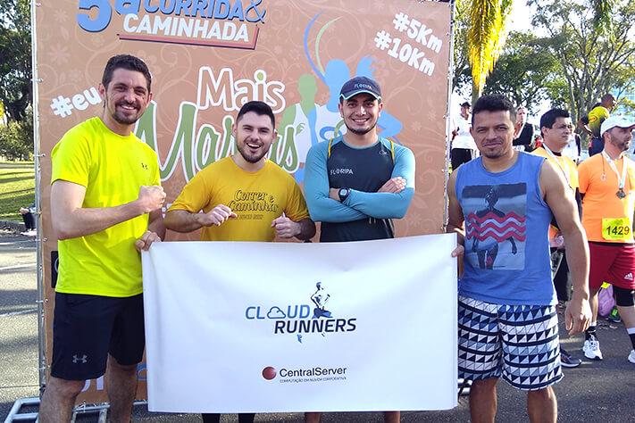 Colaboradores da CentralServer participam da 5ª Corrida e Caminhada Mais Marias