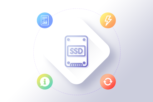 Mais performance: cloud cerver com disco SSD