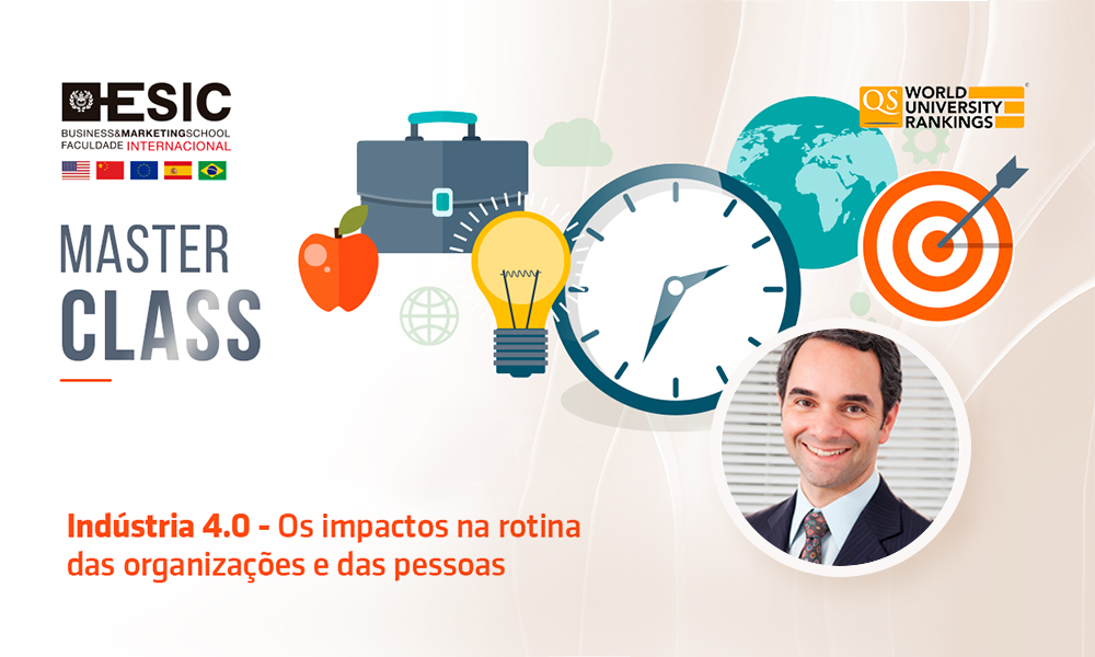 Juliano Simões irá ministrar Master Class na ESIC Business&Marketing School